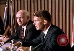 Image of Walter Schirra addresses Mercury press conference Houston Texas USA, 1962, second 10 stock footage video 65675025288