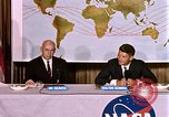 Image of Walter Schirra at NASA press conference Houston Texas USA, 1962, second 2 stock footage video 65675025290