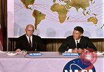 Image of Walter Schirra at NASA press conference Houston Texas USA, 1962, second 3 stock footage video 65675025290