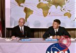 Image of Walter Schirra at NASA press conference Houston Texas USA, 1962, second 4 stock footage video 65675025290