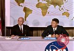 Image of Walter Schirra at NASA press conference Houston Texas USA, 1962, second 6 stock footage video 65675025290