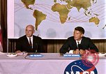 Image of Walter Schirra at NASA press conference Houston Texas USA, 1962, second 7 stock footage video 65675025290