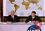 Image of Walter Schirra at NASA press conference Houston Texas USA, 1962, second 8 stock footage video 65675025290