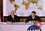 Image of Walter Schirra at NASA press conference Houston Texas USA, 1962, second 9 stock footage video 65675025290