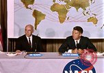 Image of Walter Schirra at NASA press conference Houston Texas USA, 1962, second 10 stock footage video 65675025290