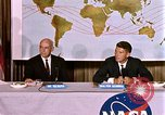 Image of Walter Schirra at NASA press conference Houston Texas USA, 1962, second 12 stock footage video 65675025290