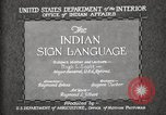Image of Native American Indian council meeting using sign language Fort Browning Montana USA, 1930, second 8 stock footage video 65675025291