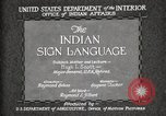 Image of Native American Indian council meeting using sign language Fort Browning Montana USA, 1930, second 12 stock footage video 65675025291