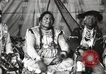 Image of Native American Indian Chief Short Face Introduces himself Fort Browning Montana USA, 1930, second 6 stock footage video 65675025293