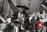Image of Native American Indian Chief Bitterroot JIm introduces himself Fort Browning Montana USA, 1930, second 8 stock footage video 65675025294
