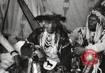 Image of Native American Indian Chief Bitterroot JIm introduces himself Fort Browning Montana USA, 1930, second 9 stock footage video 65675025294