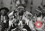 Image of Native American Indian Chief Night Shoots introduces himself Fort Browning Montana USA, 1930, second 10 stock footage video 65675025295