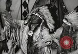 Image of Native American Indian Chief Deer Nose introduces himself Fort Browning Montana USA, 1930, second 7 stock footage video 65675025298