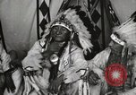 Image of Native American Indian Chief Deer Nose introduces himself Fort Browning Montana USA, 1930, second 8 stock footage video 65675025298