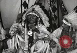 Image of Native American Indian Chief Deer Nose introduces himself Fort Browning Montana USA, 1930, second 10 stock footage video 65675025298
