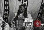 Image of Native American Indian Chief Strange Owl Fort Browning Montana, 1930, second 7 stock footage video 65675025301
