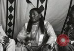Image of Native American Indian Chief Strange Owl Fort Browning Montana USA, 1930, second 8 stock footage video 65675025301