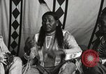 Image of Native American Indian Chief Strange Owl Fort Browning Montana, 1930, second 9 stock footage video 65675025301