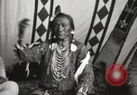 Image of Native American Indian Chief Bird Rattler of Blood Tribe Fort Browning Montana USA, 1930, second 10 stock footage video 65675025302