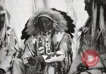 Image of Hidatsa Upper Gros Ventre Native American Indian Chief Atssinniboine B Fort Browning Montana USA, 1930, second 9 stock footage video 65675025304