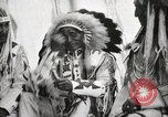Image of Hidatsa Upper Gros Ventre Native American Indian Chief Atssinniboine B Fort Browning Montana USA, 1930, second 11 stock footage video 65675025304