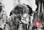 Image of Hidatsa Upper Gros Ventre Native American Indian Chief Atssinniboine B Fort Browning Montana USA, 1930, second 12 stock footage video 65675025304