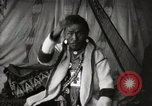 Image of Sarcee tribe Native American Indian Chief Fine Young Man Fort Browning Montana USA, 1930, second 9 stock footage video 65675025308
