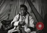 Image of Sarcee tribe Native American Indian Chief Fine Young Man Fort Browning Montana USA, 1930, second 10 stock footage video 65675025308