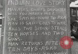 Image of Native American Indian Love Story Montana United States USA, 1934, second 1 stock footage video 65675025311