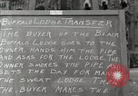 Image of Native American Indian bartering Montana United states USA, 1934, second 6 stock footage video 65675025313