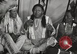 Image of Strange Owl Cheyenne Native American Indian Fort Browning Montana USA, 1930, second 9 stock footage video 65675025315