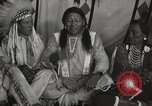 Image of Strange Owl Cheyenne Native American Indian Fort Browning Montana USA, 1930, second 11 stock footage video 65675025315