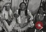 Image of Strange Owl Cheyenne Native American Indian Fort Browning Montana USA, 1930, second 12 stock footage video 65675025315
