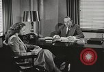 Image of American Woman as secretary New York United States USA, 1950, second 6 stock footage video 65675025322