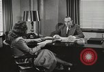 Image of American Woman as secretary New York United States USA, 1950, second 9 stock footage video 65675025322