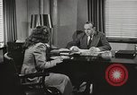 Image of American Woman as secretary New York United States USA, 1950, second 10 stock footage video 65675025322