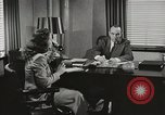 Image of American Woman as secretary New York United States USA, 1950, second 11 stock footage video 65675025322