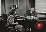 Image of American Woman as secretary New York United States USA, 1950, second 12 stock footage video 65675025322