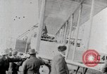 Image of Caprioni heavy bomber is displayed and takes off United States USA, 1919, second 2 stock footage video 65675025326