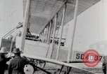 Image of Caprioni heavy bomber is displayed and takes off United States USA, 1919, second 4 stock footage video 65675025326