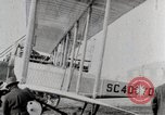 Image of Caprioni heavy bomber is displayed and takes off United States USA, 1919, second 5 stock footage video 65675025326