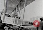 Image of Caprioni heavy bomber is displayed and takes off United States USA, 1919, second 6 stock footage video 65675025326