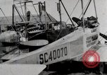 Image of Caprioni heavy bomber is displayed and takes off United States USA, 1919, second 12 stock footage video 65675025326