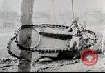 Image of Ford 3 ton M1918 light tank overturned during testing Michigan United States USA, 1918, second 2 stock footage video 65675025330