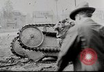 Image of Ford 3 ton M1918 light tank overturned during testing Michigan United States USA, 1918, second 3 stock footage video 65675025330