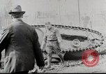 Image of Ford 3 ton M1918 light tank overturned during testing Michigan United States USA, 1918, second 4 stock footage video 65675025330