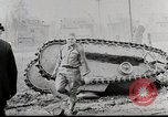 Image of Ford 3 ton M1918 light tank overturned during testing Michigan United States USA, 1918, second 5 stock footage video 65675025330