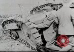 Image of Ford 3 ton M1918 light tank overturned during testing Michigan United States USA, 1918, second 11 stock footage video 65675025330
