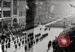 Image of American troops parade on 5th Avenue in New York City New York United States USA, 1919, second 2 stock footage video 65675025332