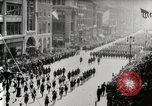 Image of American troops parade on 5th Avenue in New York City New York United States USA, 1919, second 3 stock footage video 65675025332